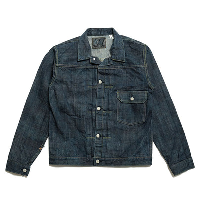Sugar Cane TOYO ENTERPRISE 55th Anniversary Model 砂糖黍 江戸藍混 14oz. Denim Blouse