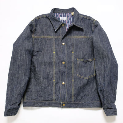 SUN SURF OKOLEHAO HWAIIAN WORK WEAR 13.5oz. DENIM PANIOLO JACKET BR14450