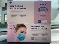 3 Ply Surgical Mask (Level 3) ASTM