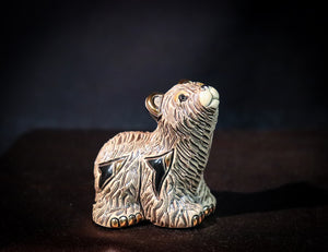 GOLD AND PLATINUM PLATED GRIZZLY BEAR ASSORTED SIZES