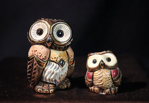 GOLD AND PLATINUM PLATED EASTERN OWL ASSORTED SIZES