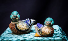 Load image into Gallery viewer, GOLD AND PLATINUM PLATED MALLARD DUCKS ASSORTED SIZES