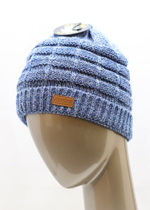 CABLE KNIT BEANIE ASSORTED COLORS