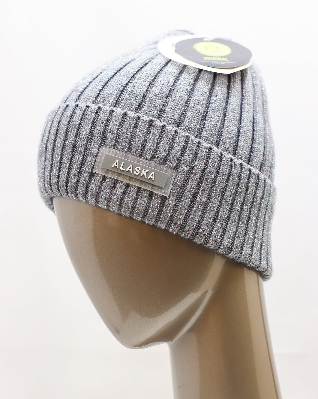 ROBIN RUTH SHIMMER CABLE KNIT BEANIE