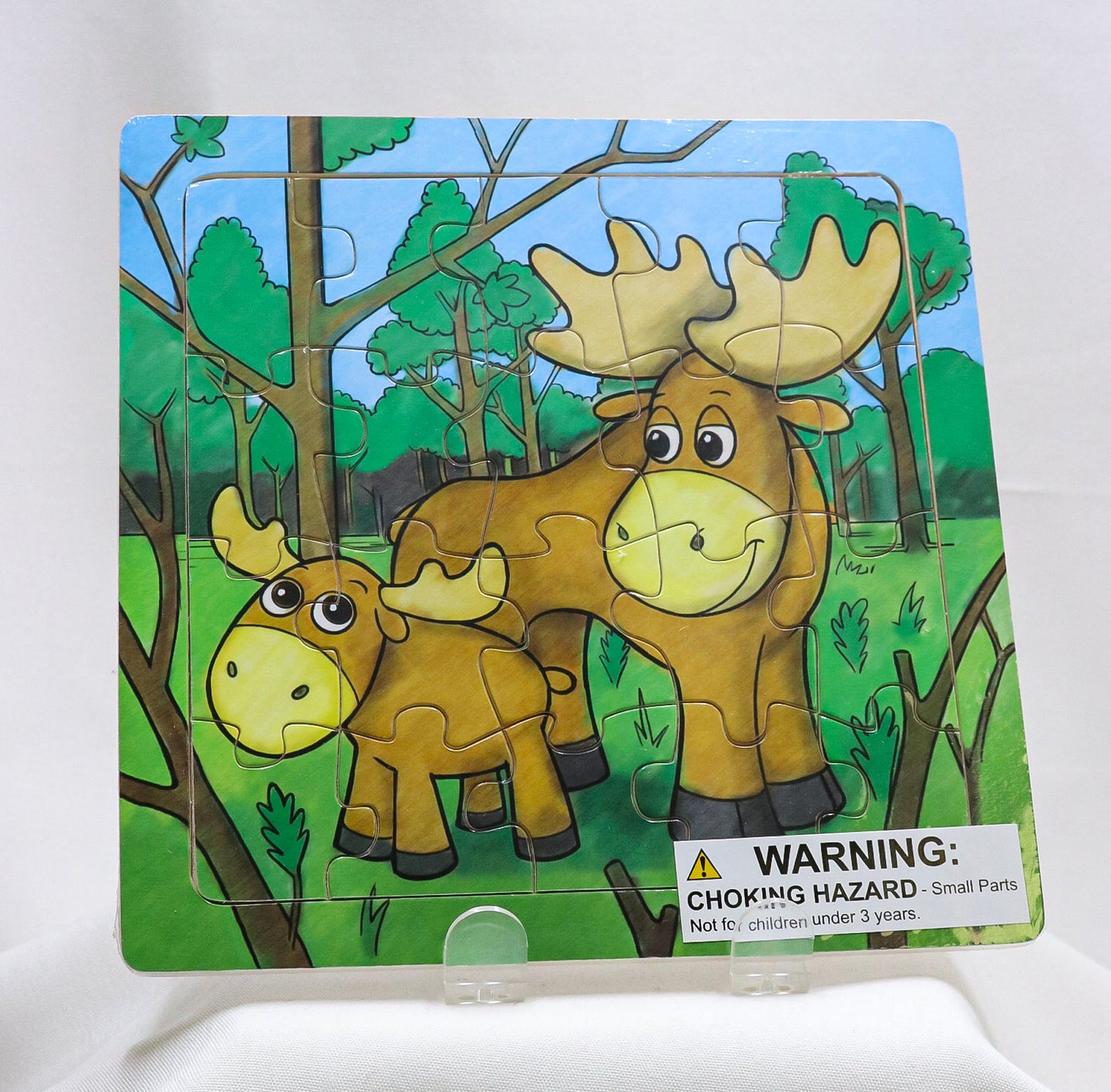 MOOSE FAMILY YOUTH 20-PIECE JIGSAW PUZZLE