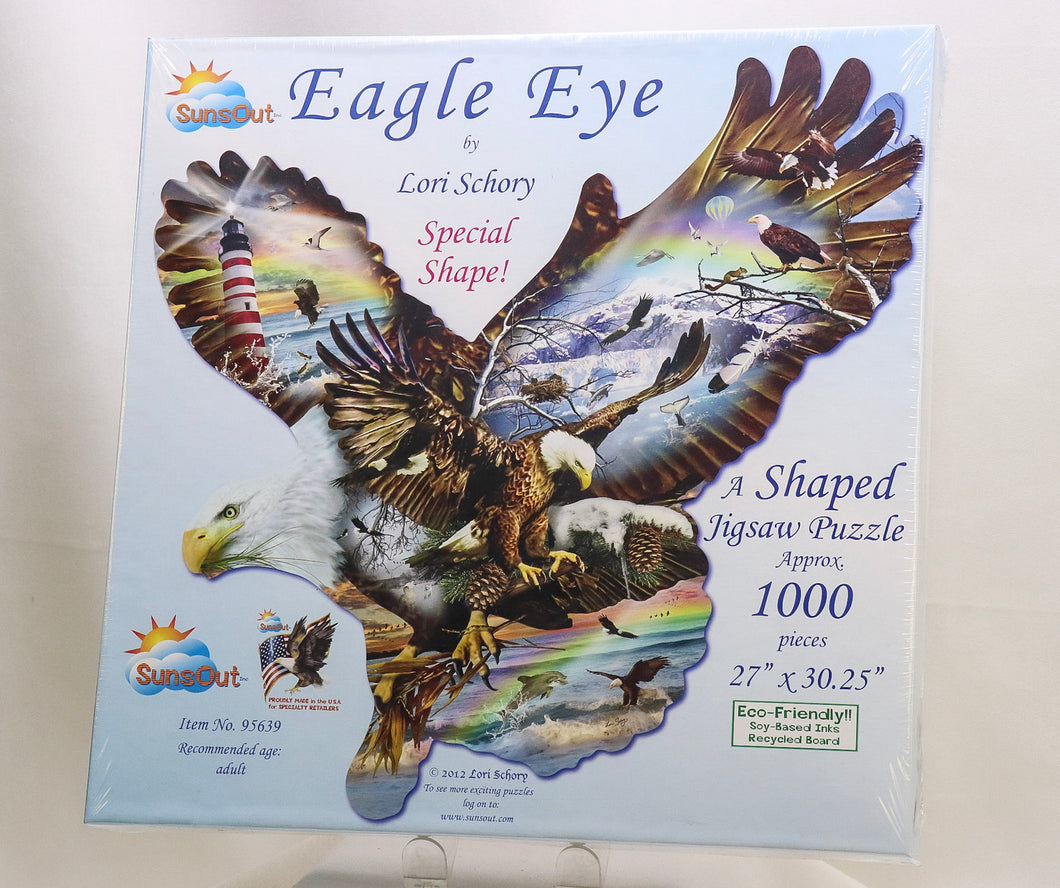 EAGLE EYE 1000-PIECE JIGSAW PUZZLE