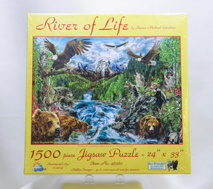 RIVER OF LIFE1500-PIECE JIGSAW PUZZLE