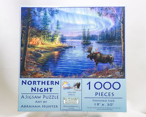 NORTHERN NIGHT 1000-PIECE JIGSAW PUZZLE