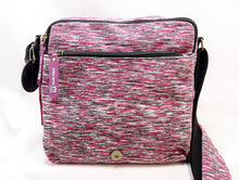 Load image into Gallery viewer, ROBIN RUTH PURPLE CROSSBODY MESSENGER BAG