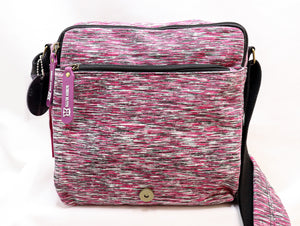 ROBIN RUTH PURPLE CROSSBODY MESSENGER BAG