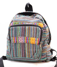 Load image into Gallery viewer, HANDMADE ASSPORTED SMALL WOVEN BACKPACKS