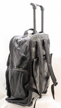Load image into Gallery viewer, GENUINE LEATHER MULTI-USE ROLLAWAY LUGGAGE