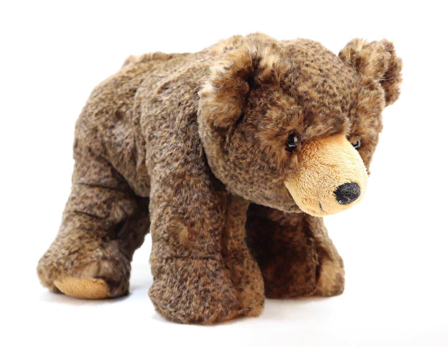 SITTING AND STANDING GRIZZLY BEAR CUB 10-INCH