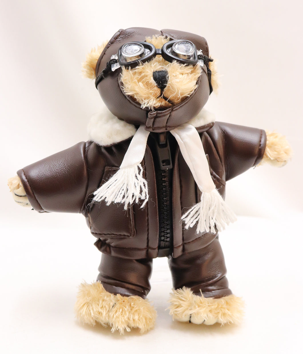 AVIATOR GRIZZLY BEAR 6-INCH