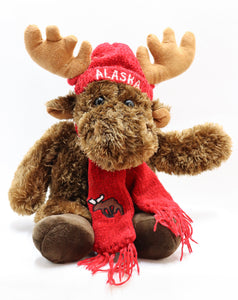 JIMMY THE WAIVING MOOSE 8-INCH