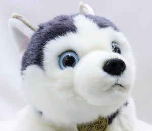 STEVE THE NERVOUS MIYONI HUSKY PUP 9-INCH