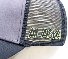 Load image into Gallery viewer, GREY SUBLIME BEAR ADJUSTABLE MESH BASEBALL HAT
