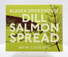 Load image into Gallery viewer, ALASKA SMOKEHOUSE DILL SALMON SPREAD 3.25 OZ