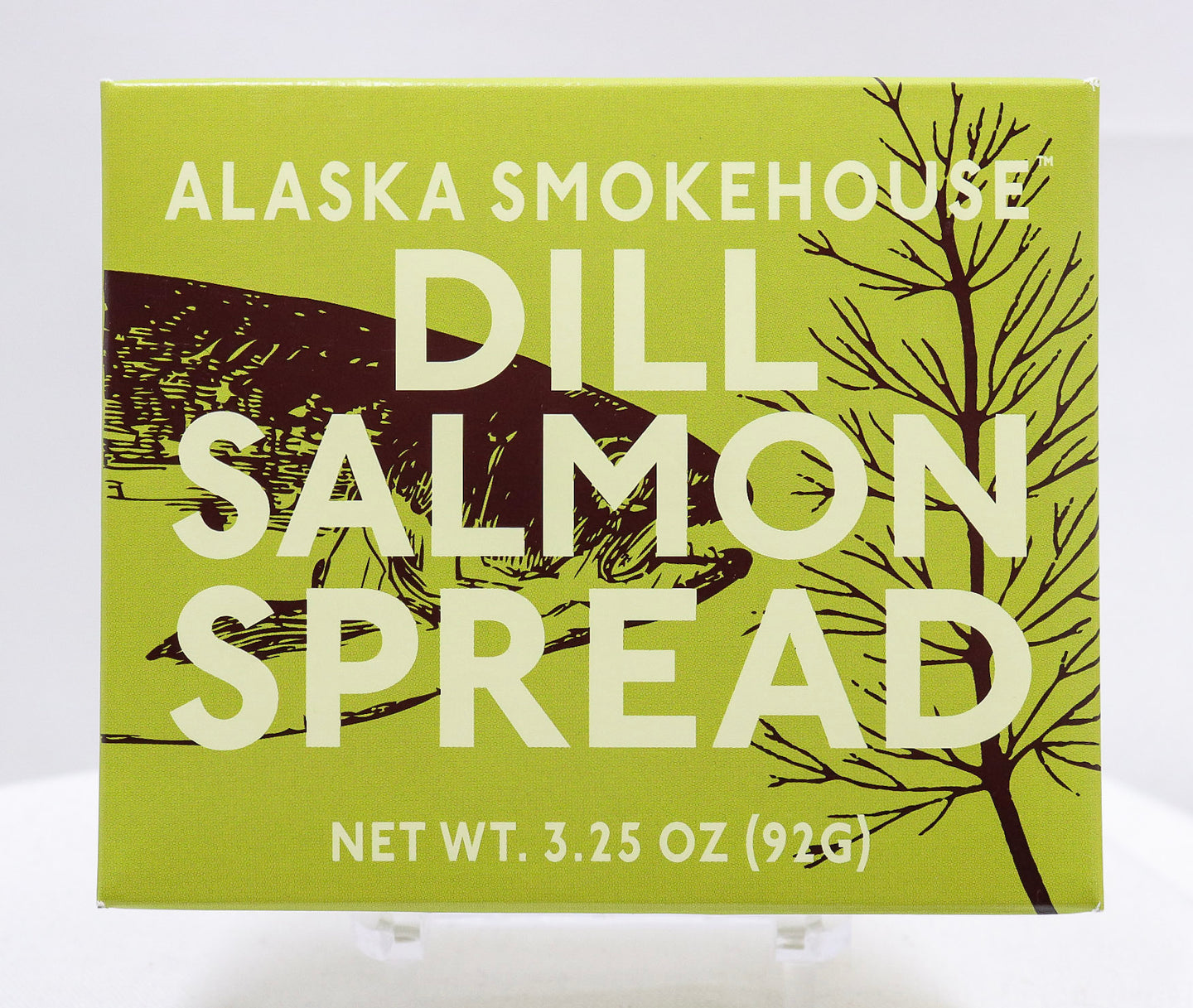 ALASKA SMOKEHOUSE DILL SALMON SPREAD 3.25 OZ