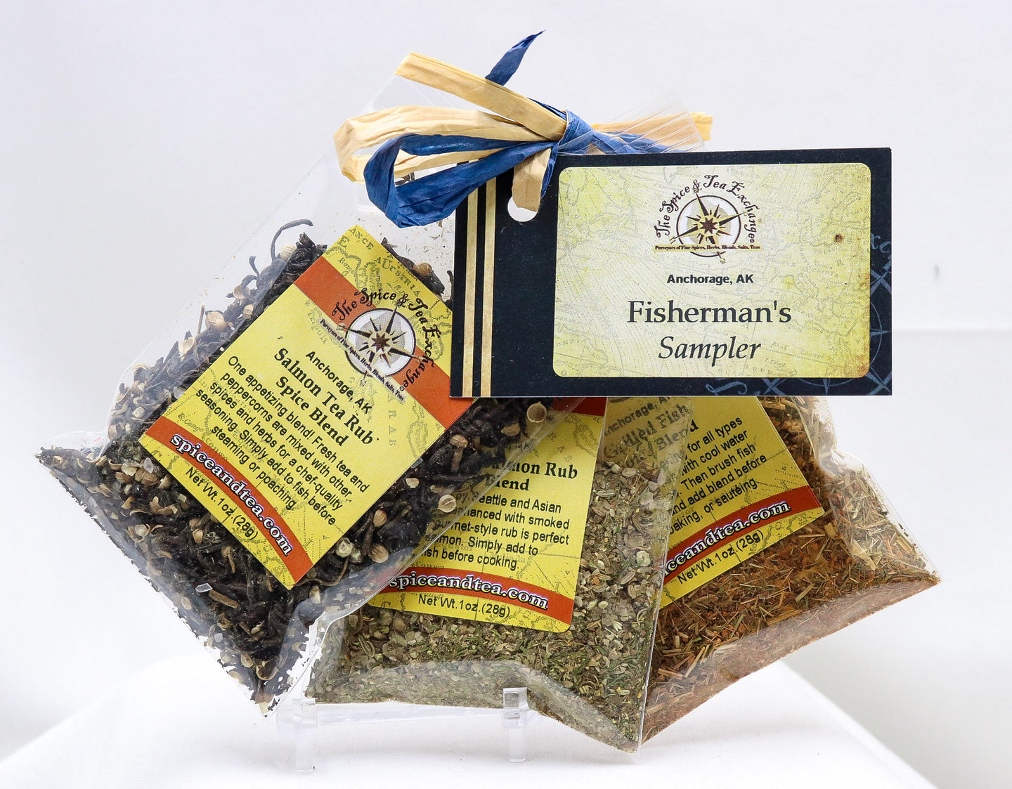 FISHERMAN'S SAMPLER SPICE GIFT SET