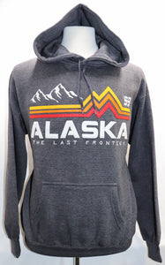 CHARCOAL BAND OF COLOR HOODIE