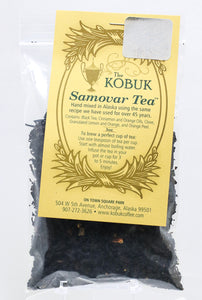 THE KOBUK SAMOVAR TEA BLEND 3 OZ BAG