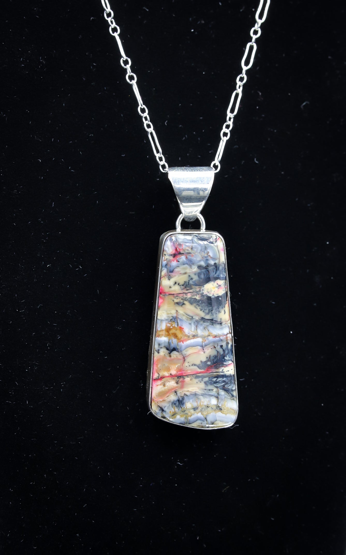 FOSSILIZED MAMMOTH IVORY NECKLACE