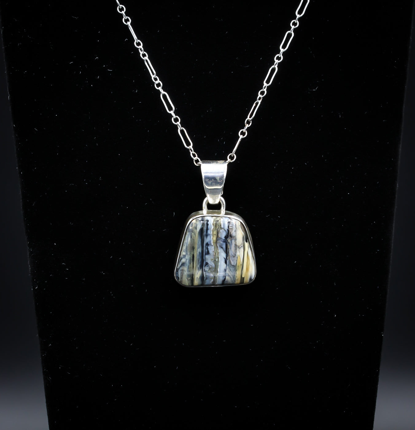 FOSSILIZED MAMMOTH TOOTH IVORY NECKLACE