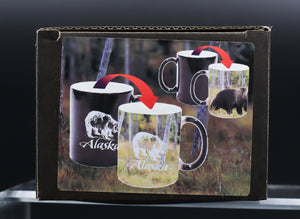 ALASKAN GRIZZLY BEAR COLOR CHANGING 11 OZ MUG