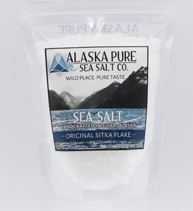 ALASKA PURE SEA SALT ORIGINAL SITKA FLAKE 4 OZ
