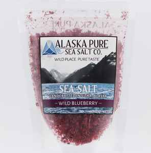 ALASKA PURE SEA SALT WILD BLUEBERRY 4 OZ