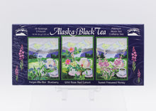 Load image into Gallery viewer, ALASKA BLACK TEA ASSORTED FLAVORS SAMPLER BOX 1.25 OZ