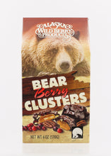 Load image into Gallery viewer, ALASKA WILDBERRY BEAR BERRY CLUSTERS 6 OZ BOX