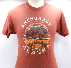 FIFTY FIFTY GRIZZLY BEAR T-SHIRT