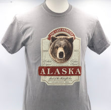 Load image into Gallery viewer, BIG WHISKEY GRIZZLY WEATHERED T-SHIRT