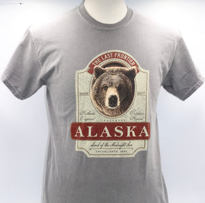 BIG WHISKEY GRIZZLY WEATHERED T-SHIRT