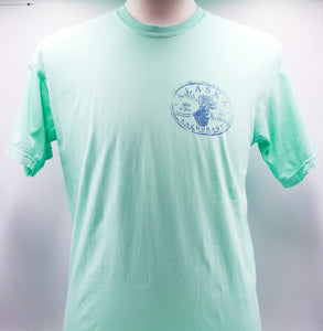 STAMP HEAD MOOSE WEATHERED T-SHIRT