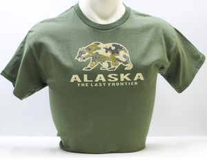 CAMO BEAR YOUTH T-SHIRT