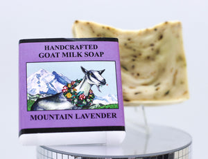 HANDCRAFTED GOAT MILK SOAP MOUNTAIN LAVENDER
