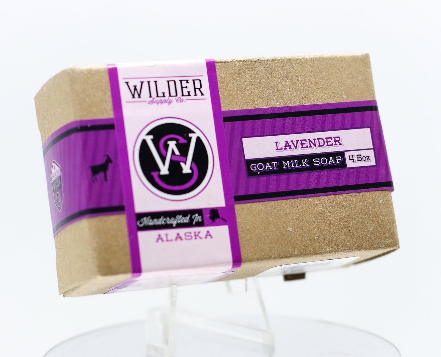 WILDER GOAT MILK LAVENDER 4.5 OZ SOAP BAR