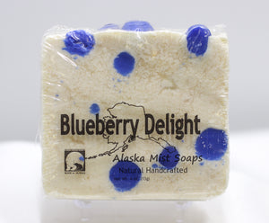 BLUEBERRY DELIGHT 4 OZ SOAP BAR