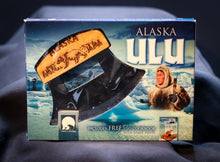 Load image into Gallery viewer, ALASKAN ULU BLADE AND STAND