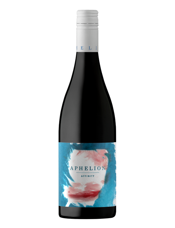Bottle of Aphelion Affinity Grenache Mataro Shiraz wine