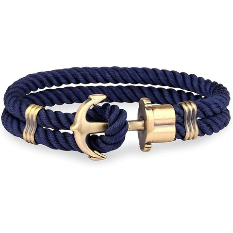Anchor Bracelet - Brass - Bomby Box