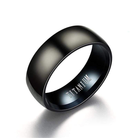 Titanium Black Rings - Bomby Box