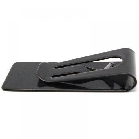 Stainless Steel - Money Clip Black - Bomby Box