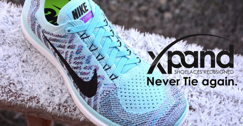 Xpand Laces - never tie again