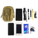 Travel Kit Outdoor Tactical Waist Fanny Pack Belt Bag EDC Camping Hiking Pouch