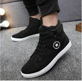 Men Shoes Sapatos Tenis Masculino Men Fashion Spring Autumn Canvas Fur Boots