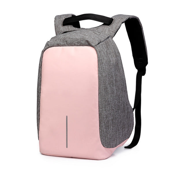Mochila - Waterproof Oxford USB Charging Backpack